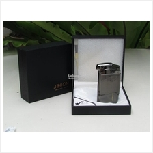 Jobon ZB-011 Tobacco Pipe Gas Refillable Piezo Lighter (Black)