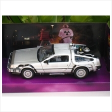 Welly 1/24 Diecast Car Delorean Time Machine Back To The Future I