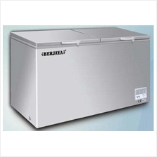 Commercial Chest Freezer Berjaya Top Opening Solid Door St Steel 767SS