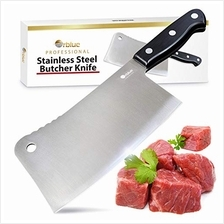 [USA Shipping]Orblue Stainless Steel Chopper-Cleaver-Butcher Knife 7