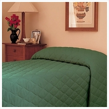 [From USA]Martex 1C75869 81-Inch x 110-Inch Bedspread Twin Forest Green 1-Pack
