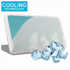 [From USA]Freshmint Pillows for Sleeping Cool Gel Memory Foam Neck Pillow Vent