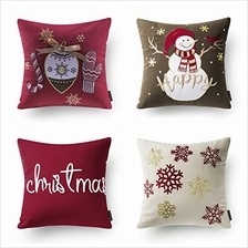 [From USA]Phantoscope Set of 4 New Merry Christmas Embroidery Snowman Letter S