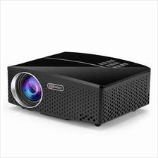 VIVIBRIGHT GP80 LED 1800 Lumens HD Mini Portable Projector for Home Theater Ci