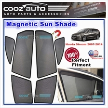 Honda Stream 2007-2014 Magnetic Sun Shade Sunshade