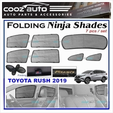 Toyota Rush 2019 Magnetic Ninja Sun Shade Sunshade