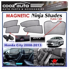 Honda City GM2 GM3 2008 - 2013 Magnetic Ninja Sun Shade Sunshade