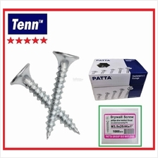 TF-IPZ 3MMX25MM DRYWALL SCREW BUGLE HEAD ZINC PLATED (PATTA)(1000PCS)