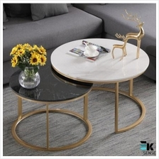 Modern Nordic Style Marble Coffee Table Luxury (1 month pre order)