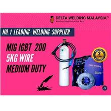 DELTA   200A GMAW  Steel Machine welding Malaysia - 2 years warranty