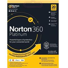 Norton 360 Platinum 2020 - 2 Years 20 Devices Windows Mac Android IOS