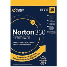Norton 360 Premium 2020 - 2 Years 10 Devices Windows Mac Android IOS