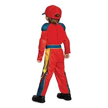 [Good Choice]Cars 3 Lightning Mcqueen Classic Toddler Costume Red Medium (3T-4