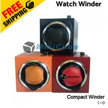 Compact Piano Gloss Single Watch Winder with 5 Mode Rotation