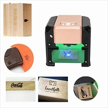 [USA]Crafts Man 3000mW Mini Laser Engraving Machine Desktop High Spee