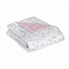 [From USA]Lolli by Lolli Living Baby Comforter in Primrose Print. 100% Cotton