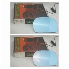 Perodua Kelisa Blue Side Mirror w LED Signal
