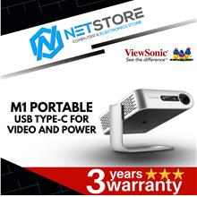 ViewSonic M1 Portable Projector with Dual Harman Kardon Speakers