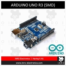 Arduino UNO R3 | SMD package microcontroller | Compatible version