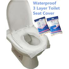 Waterproof Disposable Toilet Seat Cover Practical Hygiene * 5 Sheets
