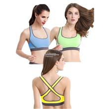Set of 3 Cross Back Yoga Sport Bra