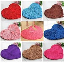 Cute Love Heart Shaped Non-slip Bathroom Rug Carpet Bath Mat