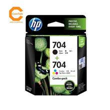 HP Ink Cartridges 704 Black+Color Combo Pack