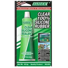 HARDEX CLEAR 100% SILICONE SEALANT 85G (RS850)