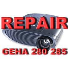 ( PROJECTOR REPAIR ) INFOCUS GEHA 285/280 PROJECTOR