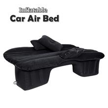 Inflatable Air Bed Car Air Mattress Back Seat Camping With Pump