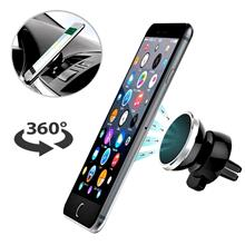 Car Phone Mount Magnetic Air Vent Cell Phone Holder All Smartphones Mobile