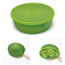 Tupperware Modular Colander with Seal (1pcs) -Green.Strainer.Penapis-