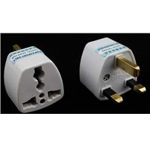 *UK 3pin Universal ^Multi Power Travel Plug Converter Adaptor Adapter