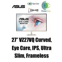 Asus 27' VZ27VQ Eye Care Curved Monitor (FHD,IPS,Ultra-Slim,Frameless)