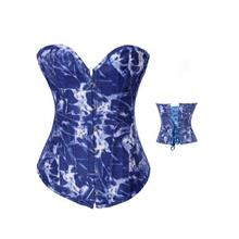 Blue Magic Denim Corset