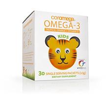 [From USA] Coromega Kids Omega 3 Fish Oil Supplement 650mg of Omega-3s Tropica