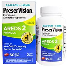 [From USA] PreserVision Eye Vitamin and Mineral Supplement Areds 2 Formula 60