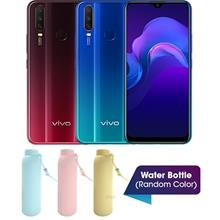 Vivo Y12 6.35 Inch [64GB] 3GB RAM Smartphone + Vivo Water Bottle (Vivo Warrant