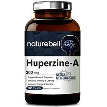 [From USA] NatureBell Huperzine A 200mcg 180 Tablets Powerful Ultra Nootropics