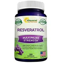 [From USA] 100% Pure Resveratrol - 1000mg Per Serving Max Strength (180 Capsul