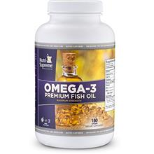 [From USA] Nutri-Supreme Research Omega-3 Premium Fish Oil - Maximum Strength