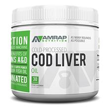 [From USA] AMRAP Nutrition Fermented Norwegian Cod Liver Oil.