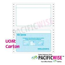 Ready Made Standard Payslip Mailer 9.5inch x 11inch (2UP)-(1000PCS)