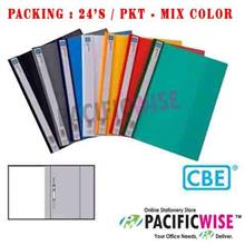 CBE 807A PVC Management File 24's - Mix Color