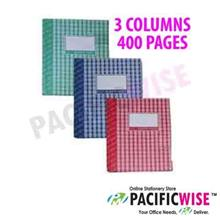 Hard Cover Book Quarto Book F5 3 Columns (400 Pages)
