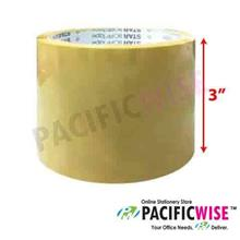 "OPP Tape 3"" (Brown) 72mm X 40m"