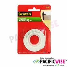 3M SCOTCH MOUNTING TAPE (D/SIDED) 12MM X 1M