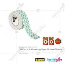 3M SCOTCH MOUNTING TAPE (D/SIDED) 25.4MM X 1.27M