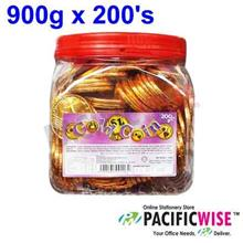 Gold Coin Chocolate(900g x 200's)