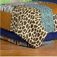 [From USA]One Grace Place Jazzie Jungle Boy Full Bed Skirt